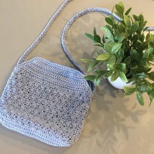 Y2K Light Purple Crochet Purse Handbag